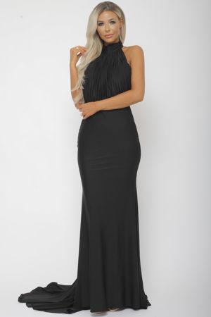 Suzanne Halter Gown in Black