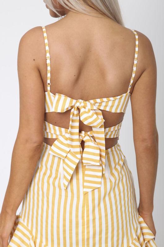Mellow Yellow Mini Dress