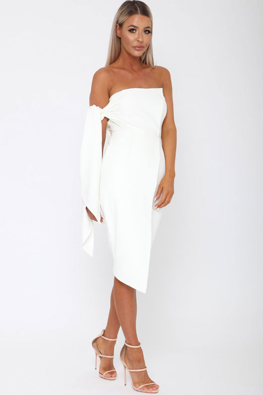 Bailey Dress in Ivory