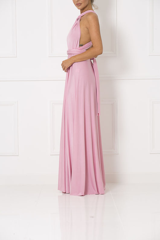 Multiway Dress in Baby Pink