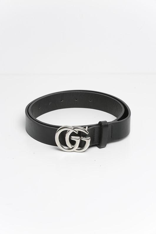 GG Belt in Silver
