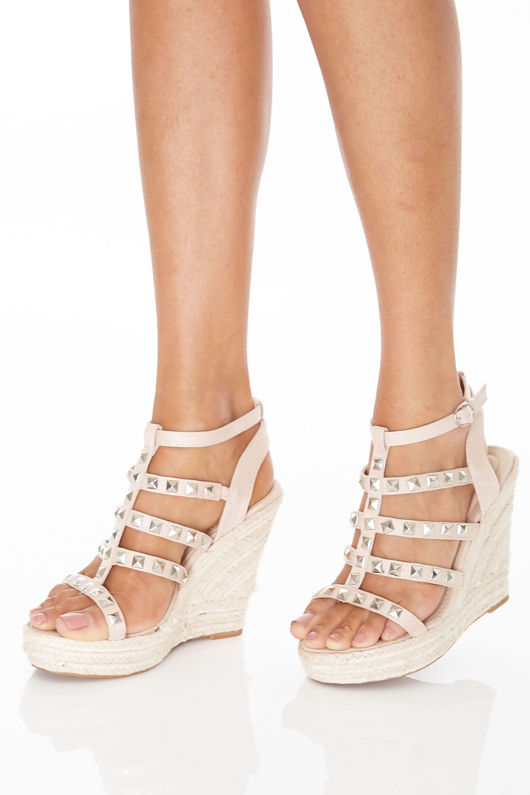 Galaxy Wedges in Beige