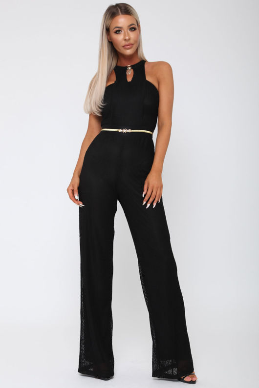 Lexx Jumpsuit in Black
