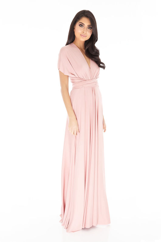 Multiway Dress In Blush #61
