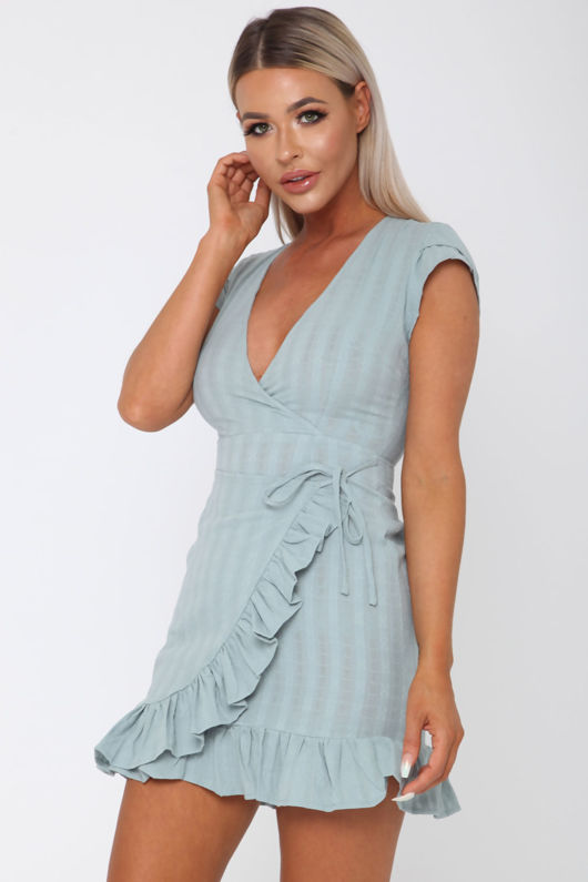 Daisy Duke Dress in Teal