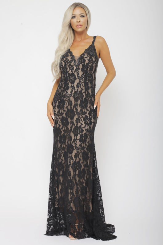 Lora Dress in Black