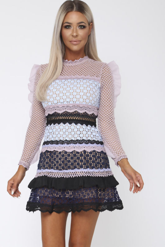 Terina Lace Mini Dress