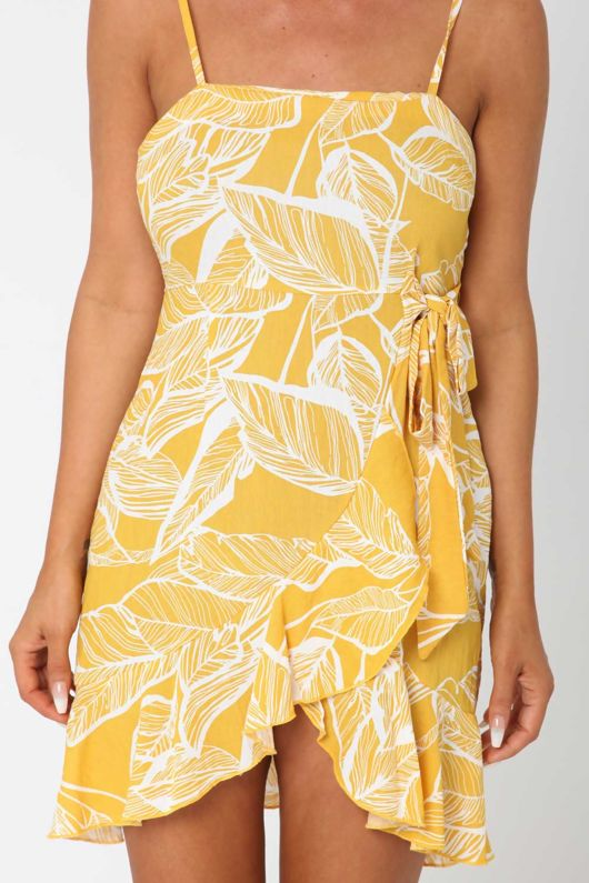 The Gathering Dress Yellow