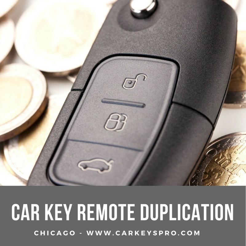 car key remote duplication