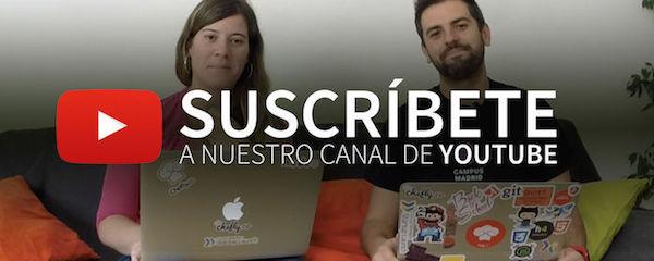 Suscribete a nuestro canal de Youtube | Videotutoriales, Programacion, Angular, Node.js, Startups,...