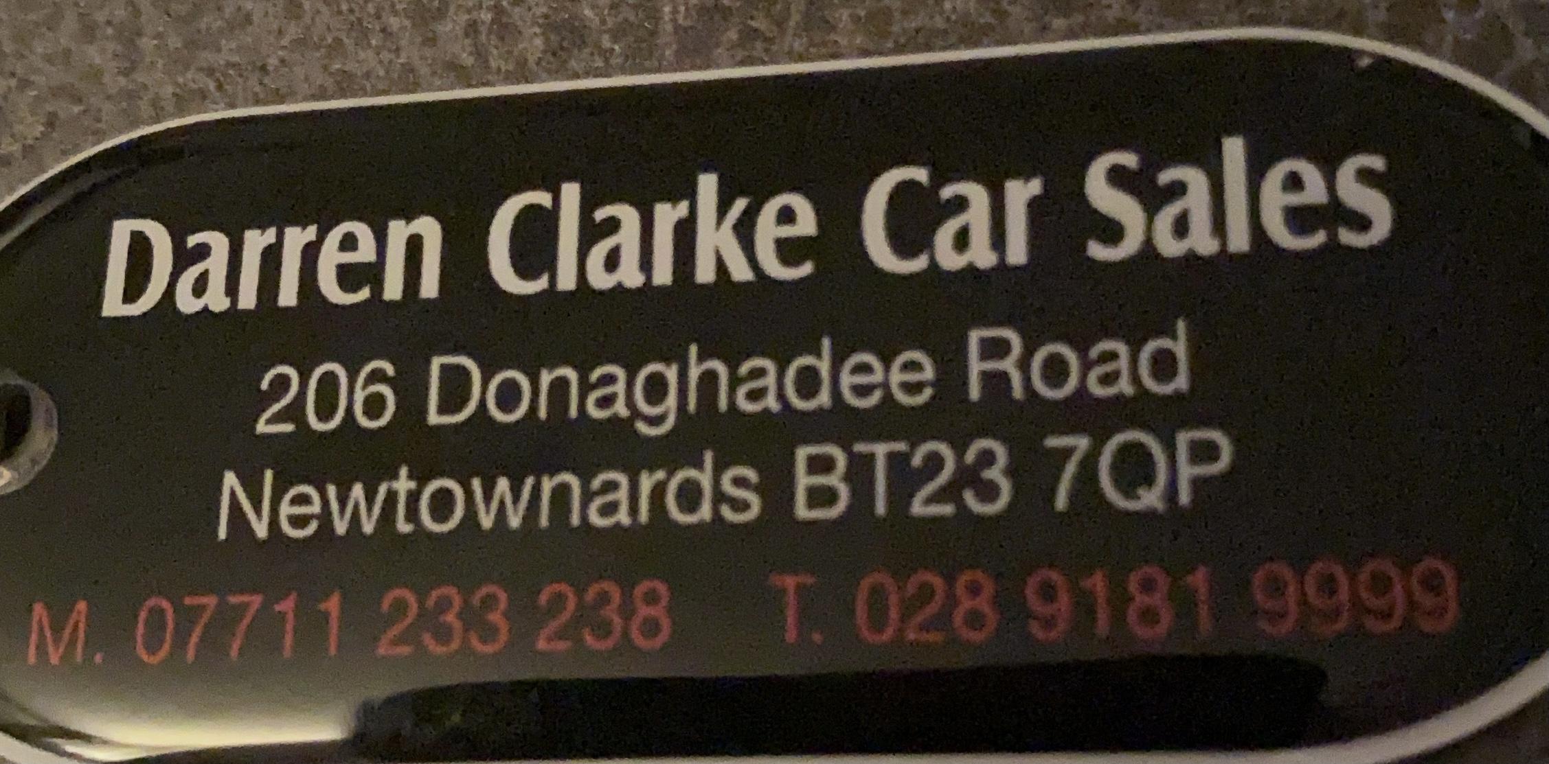 Darren Clarke Car Sales, Newtownards