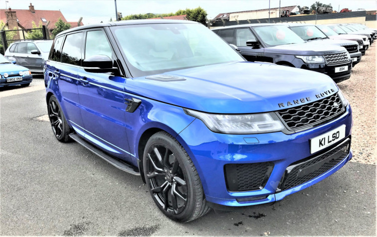 2020 Land Rover Range Rover Sport SVO 3.0 SDv6 7 Seater LIMITED EDITION