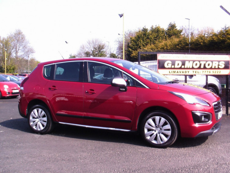 2014 Peugeot 3008 Crossover 1.6 ACTIVE E-HDI S-A