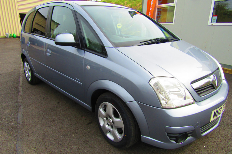 2008 Vauxhall Meriva Breeze 1.6