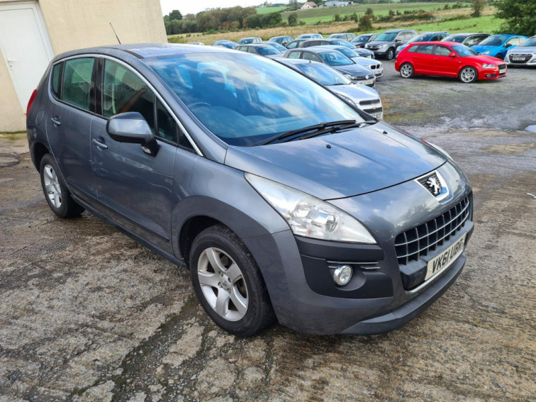 2011 Peugeot 3008 Crossover