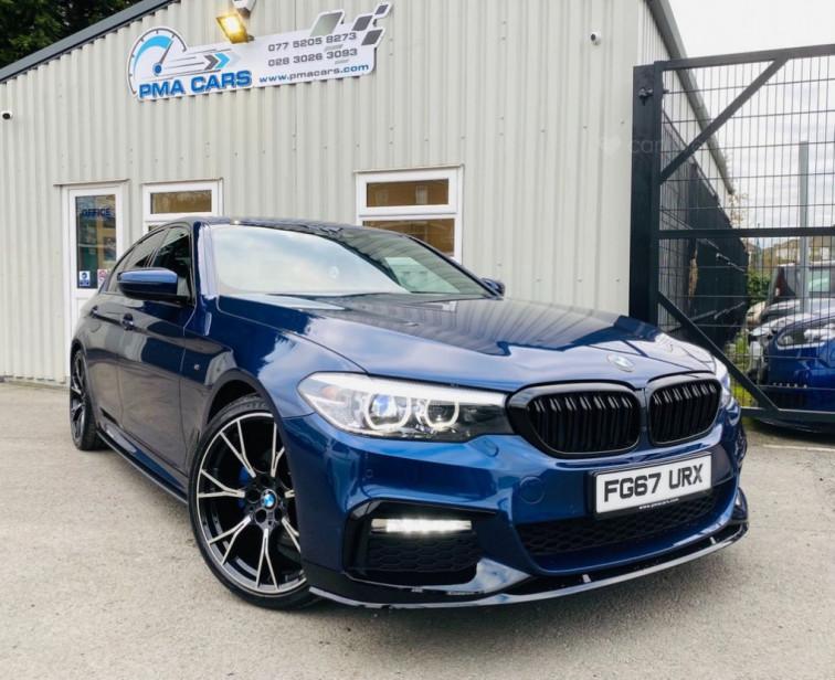 2017 BMW 5 Series 2.0 520D M SPORT 4d 188 BHP