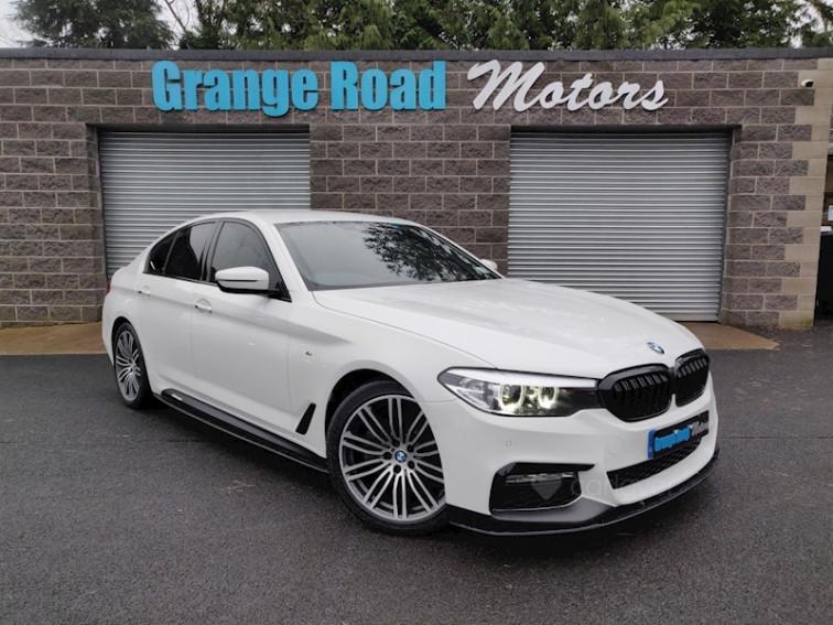 2018 BMW 5 Series 520d M Sport Saloon
