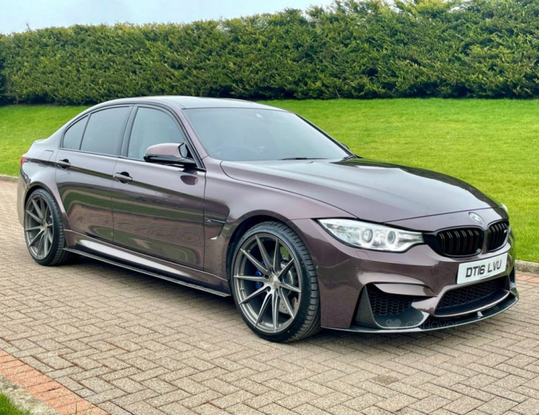 2016 BMW M3 3.0 M3 4d 426 BHP
