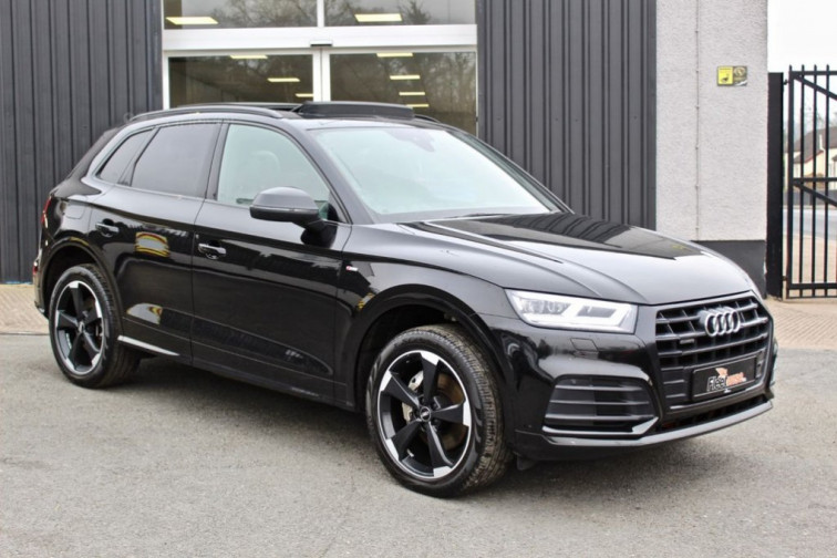 2020 Audi Q5 2.0 TDI QUATTRO S LINE BLACK EDITION 5d 188 BHP