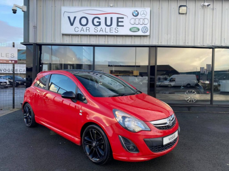 2013 Vauxhall Corsa 1.2 LIMITED EDITION 3d 83 BHP LIMITED EDITION