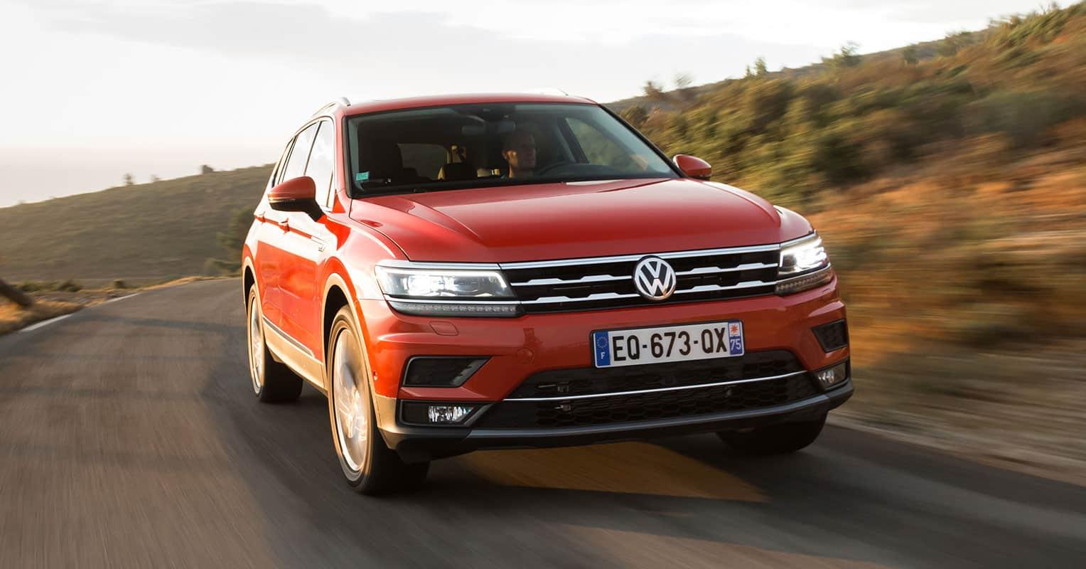 Volkswagen Tiguan Allspace frontal