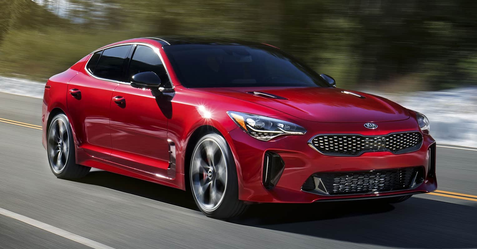 Kia Stinger frontal
