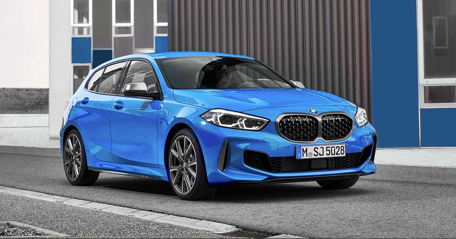 BMW Serie 1 frontal