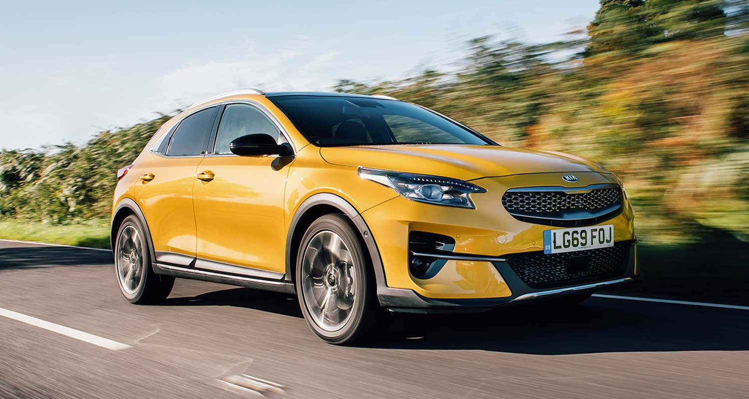 Kia xceed amarillo