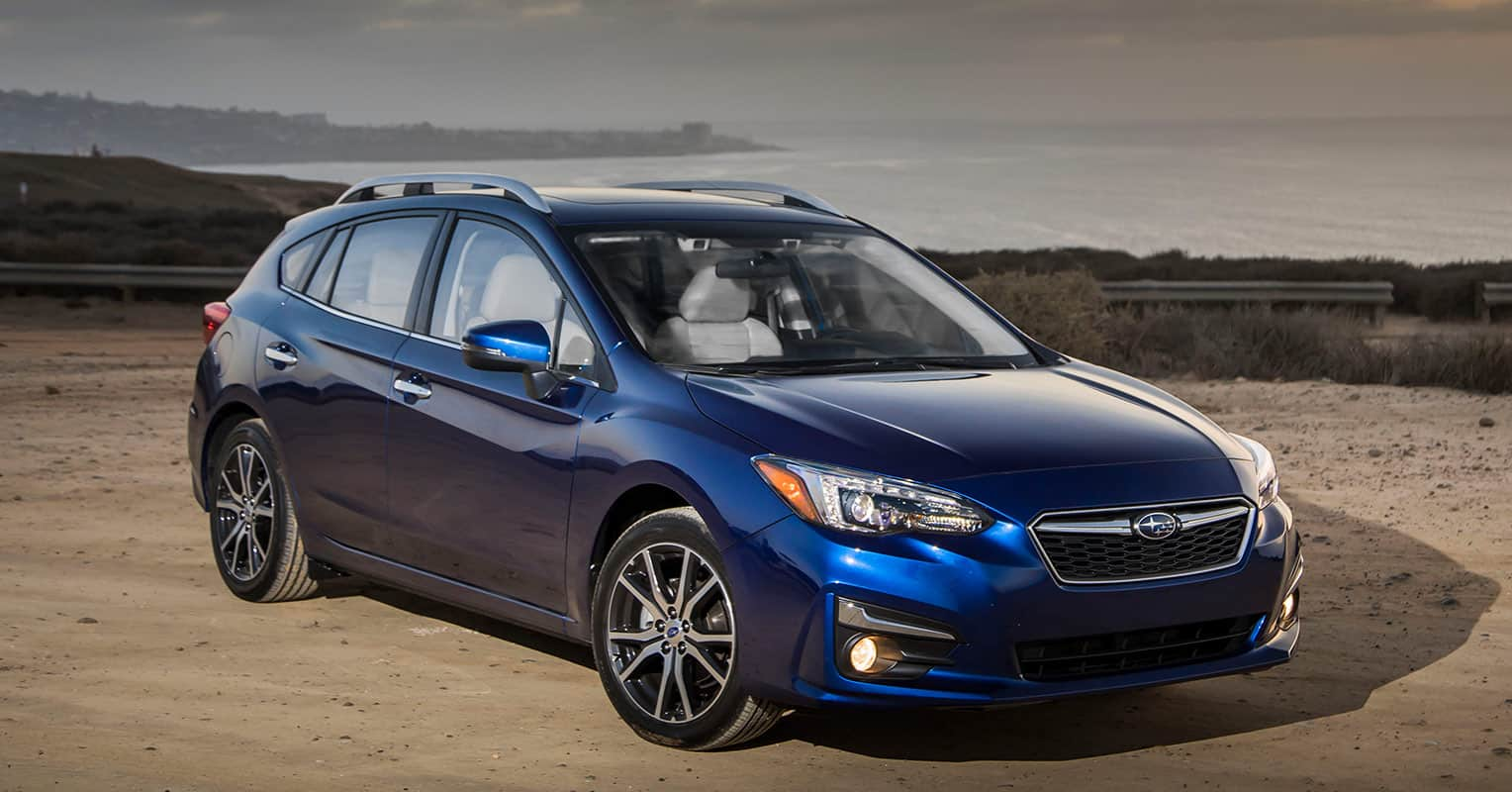 Subaru impreza frontal