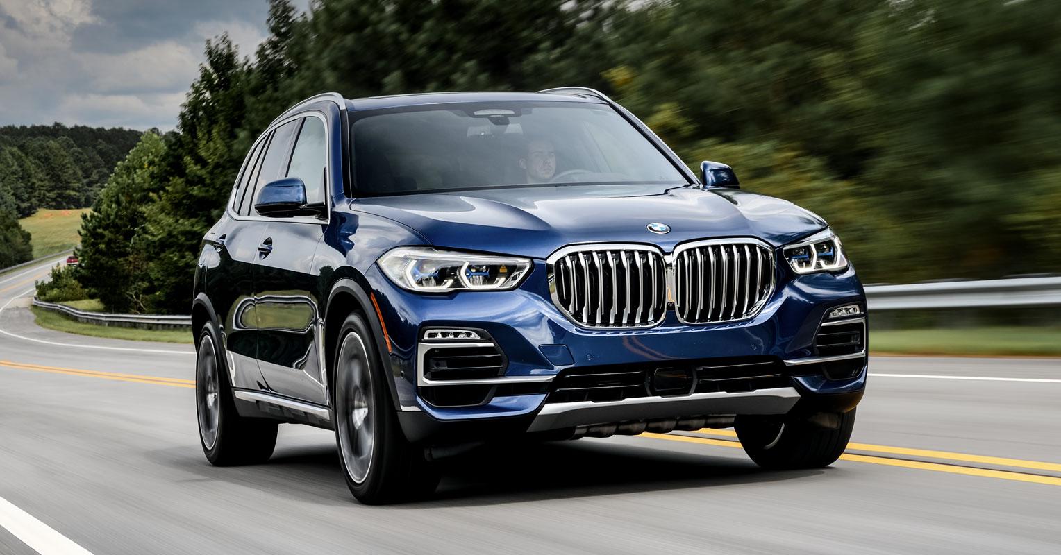 BMW X5 frontal