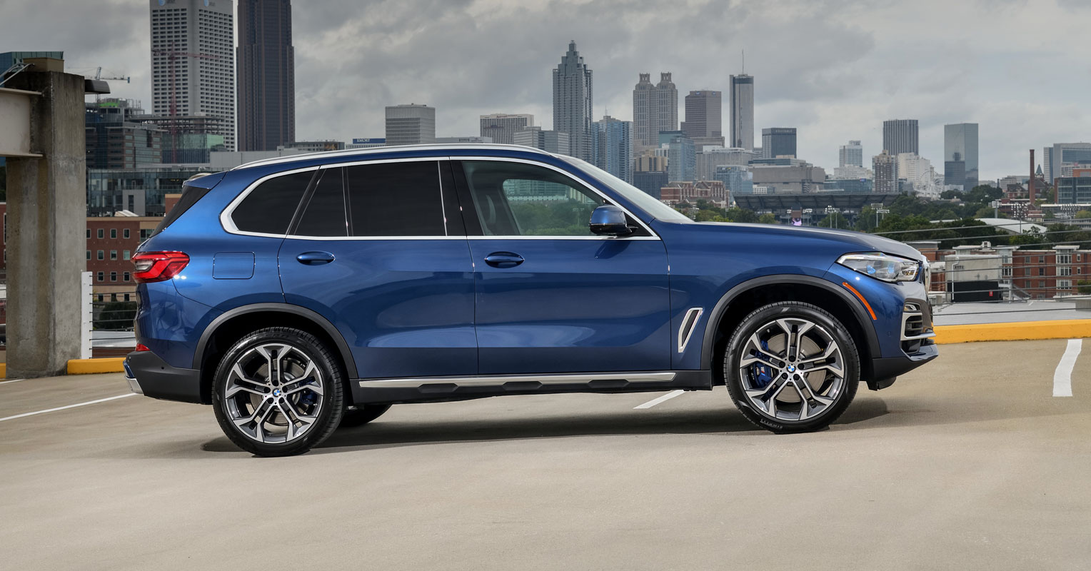 bmw x5 lateral