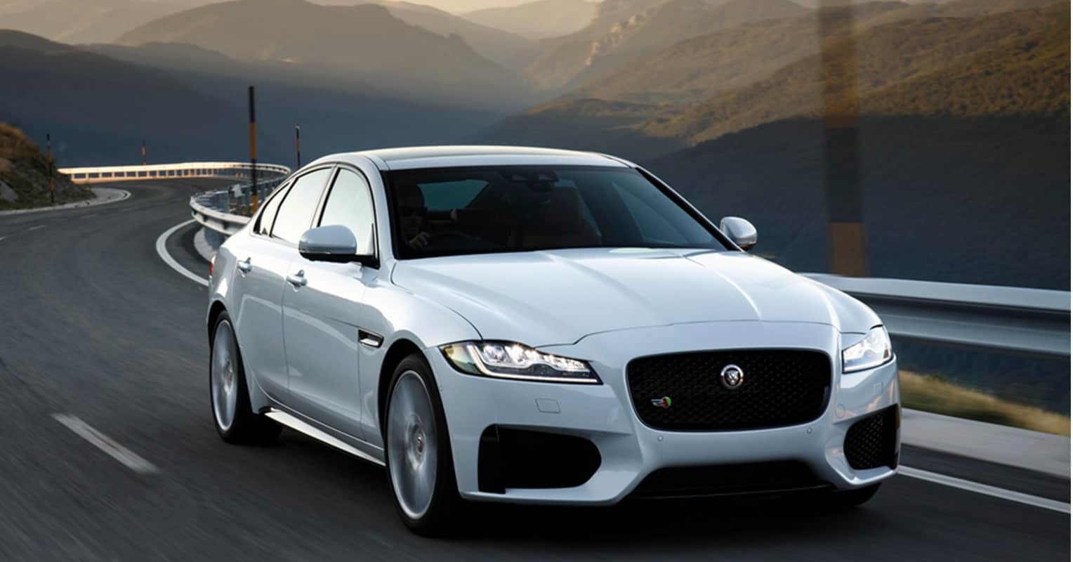 Jaguar XF frontal