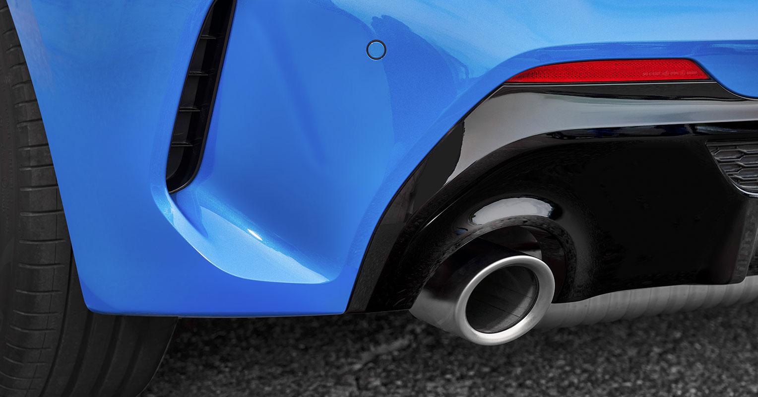 BMW Serie 1 tubo de escape
