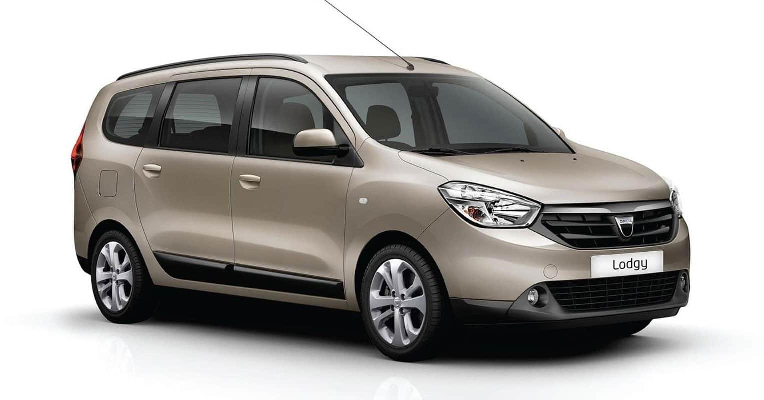 Frontal del Dacia Lodgy