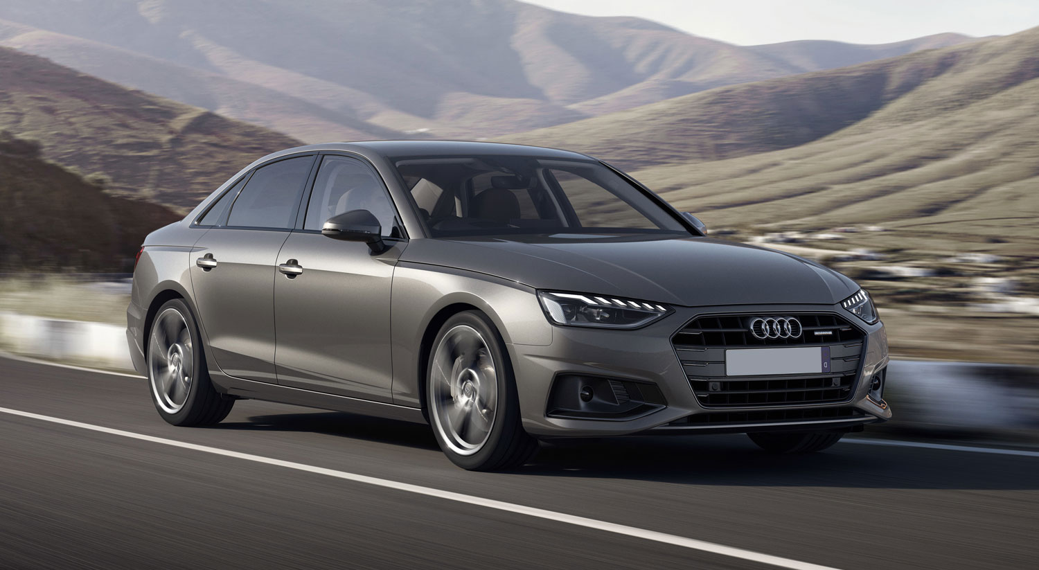 Audi A4 frontal