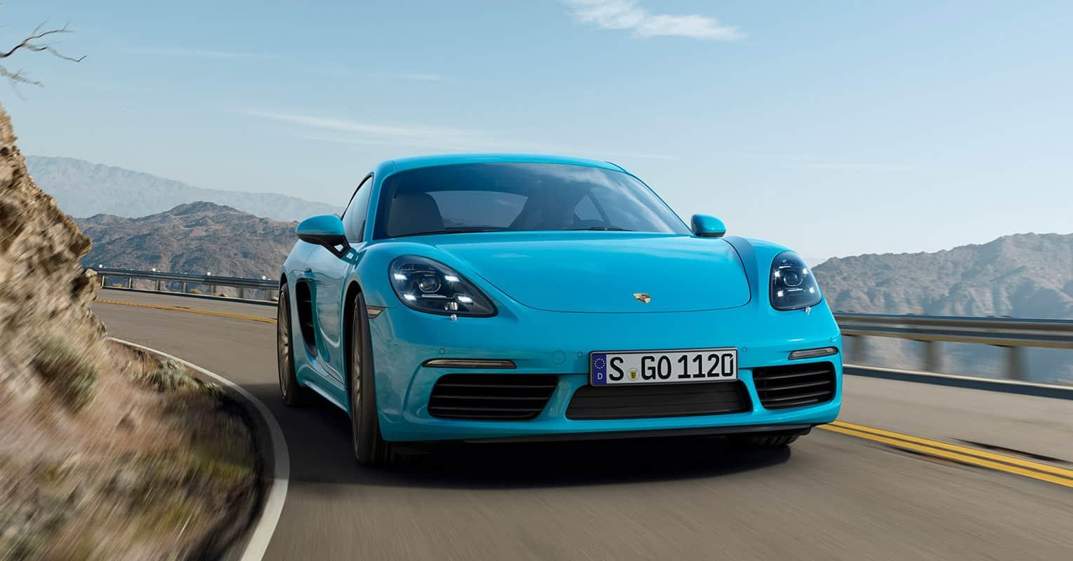Porsche 718 frontal