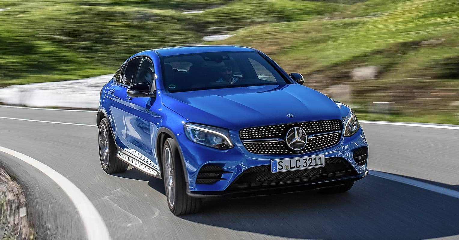 Mercedes-Benz GLC Coupe frontal