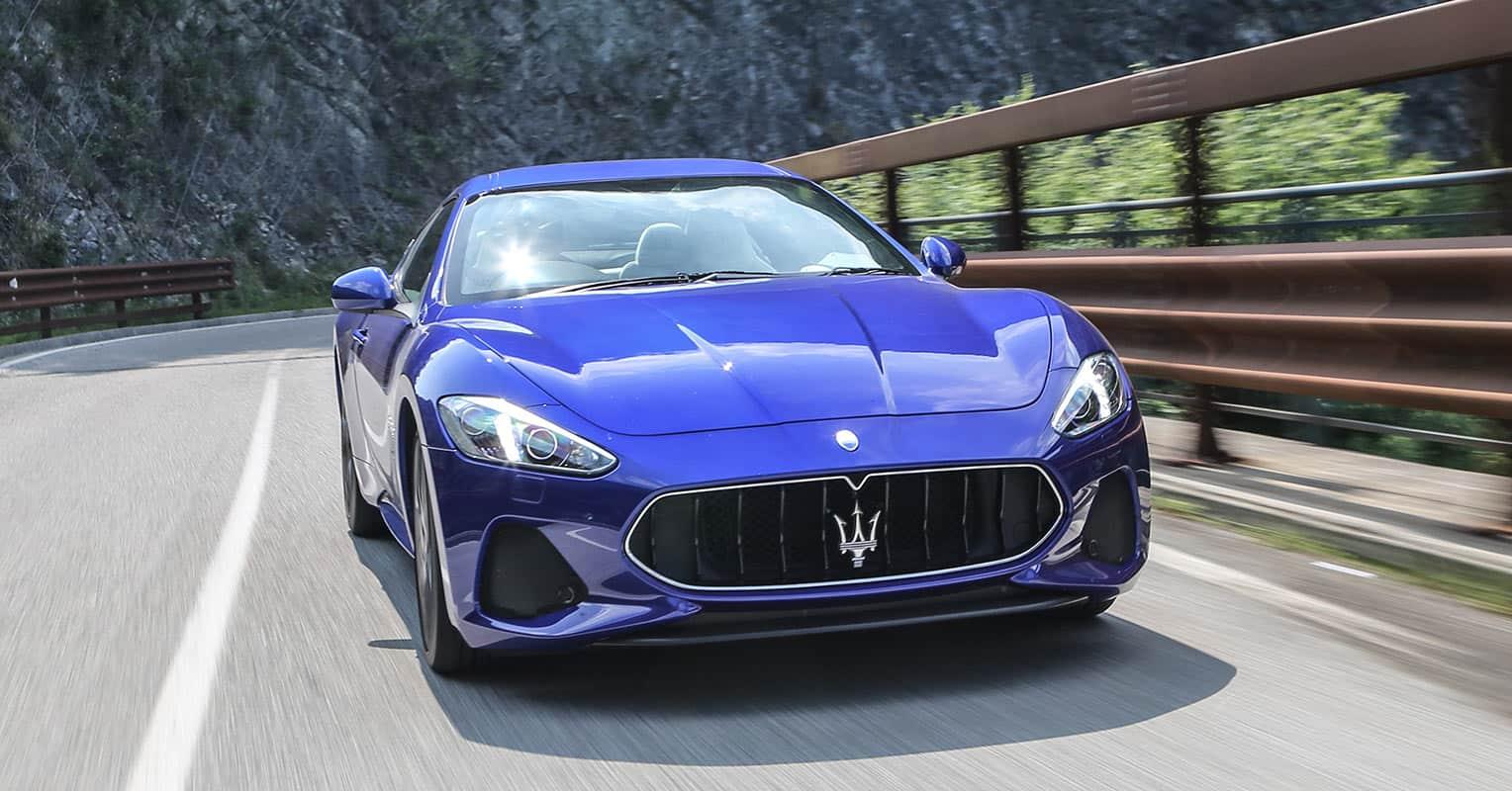 Maserati GranTurismo Coupé frontal