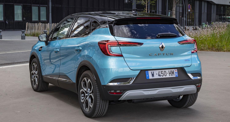 Renault Captur zaga