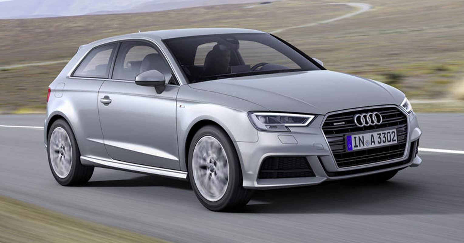 Audi A3 frontal