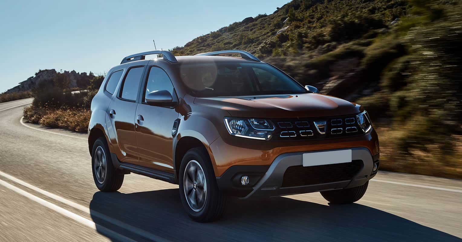 Frontal del Dacia Duster