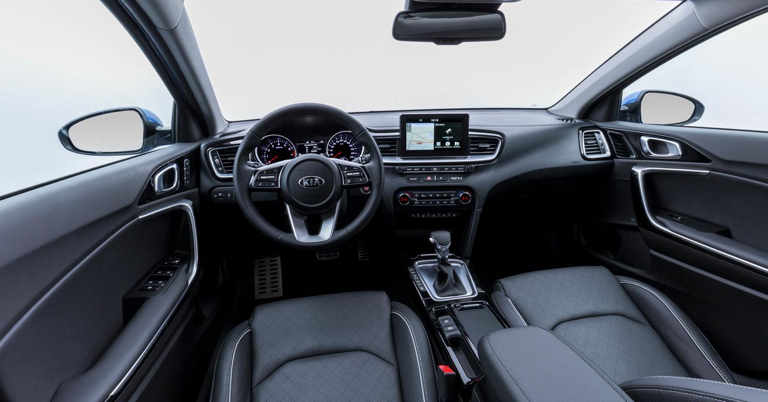 Interior del Kia Ceed 2019