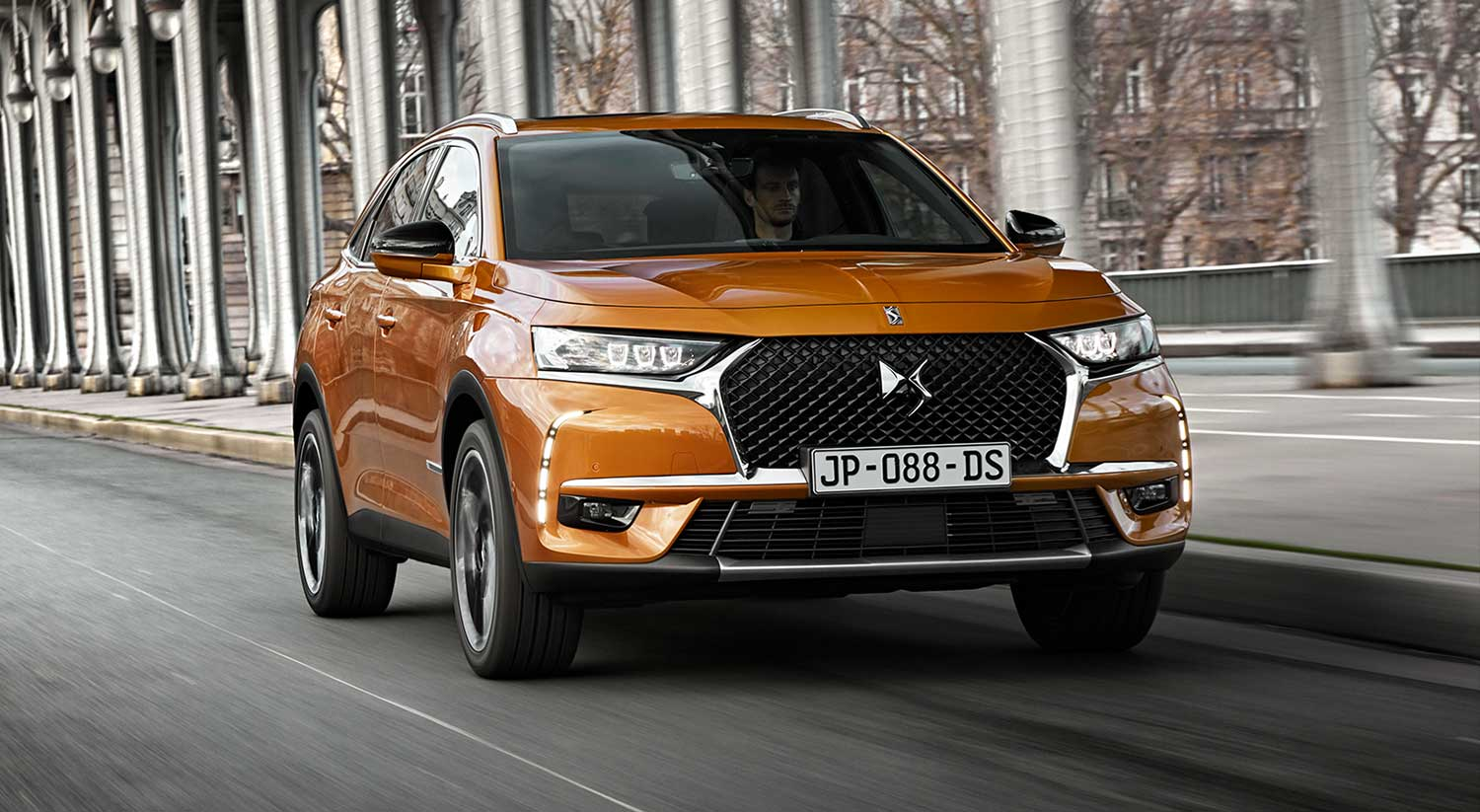 frontal DS7 Crossback