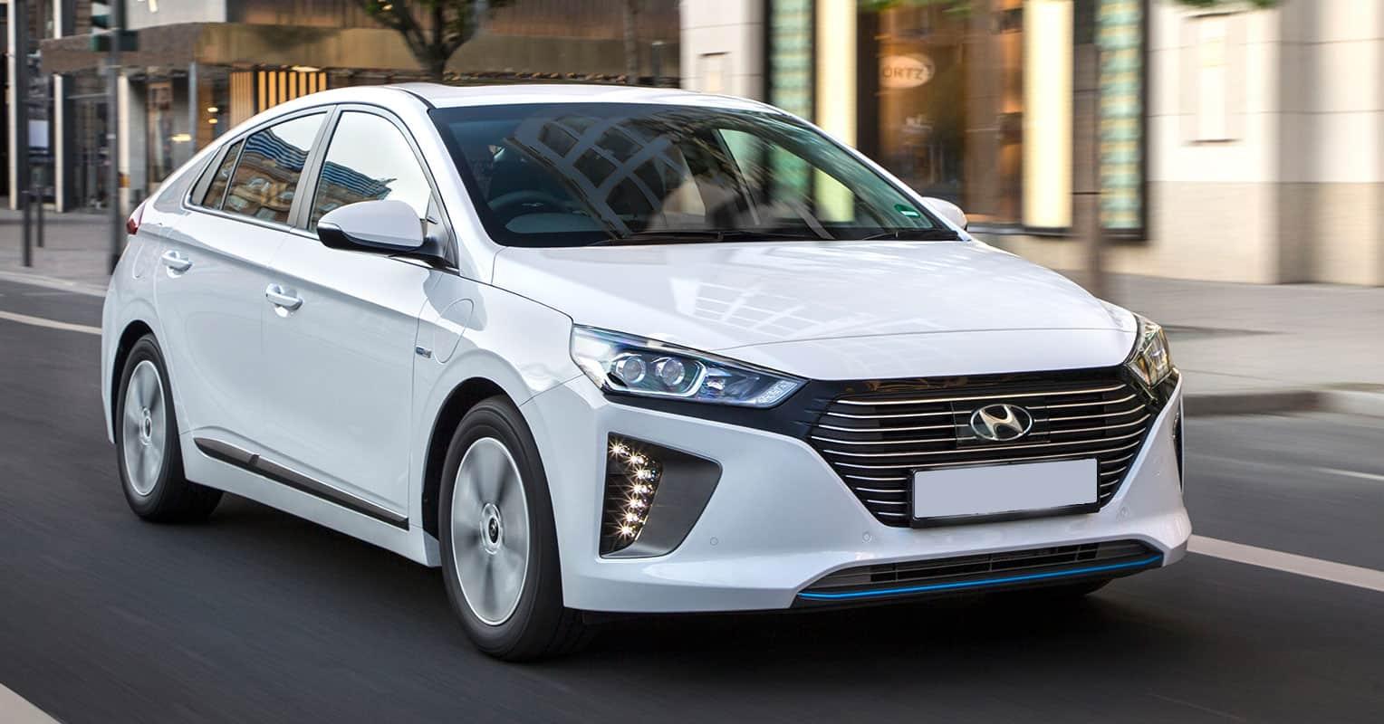Hyundai ioniq frontal
