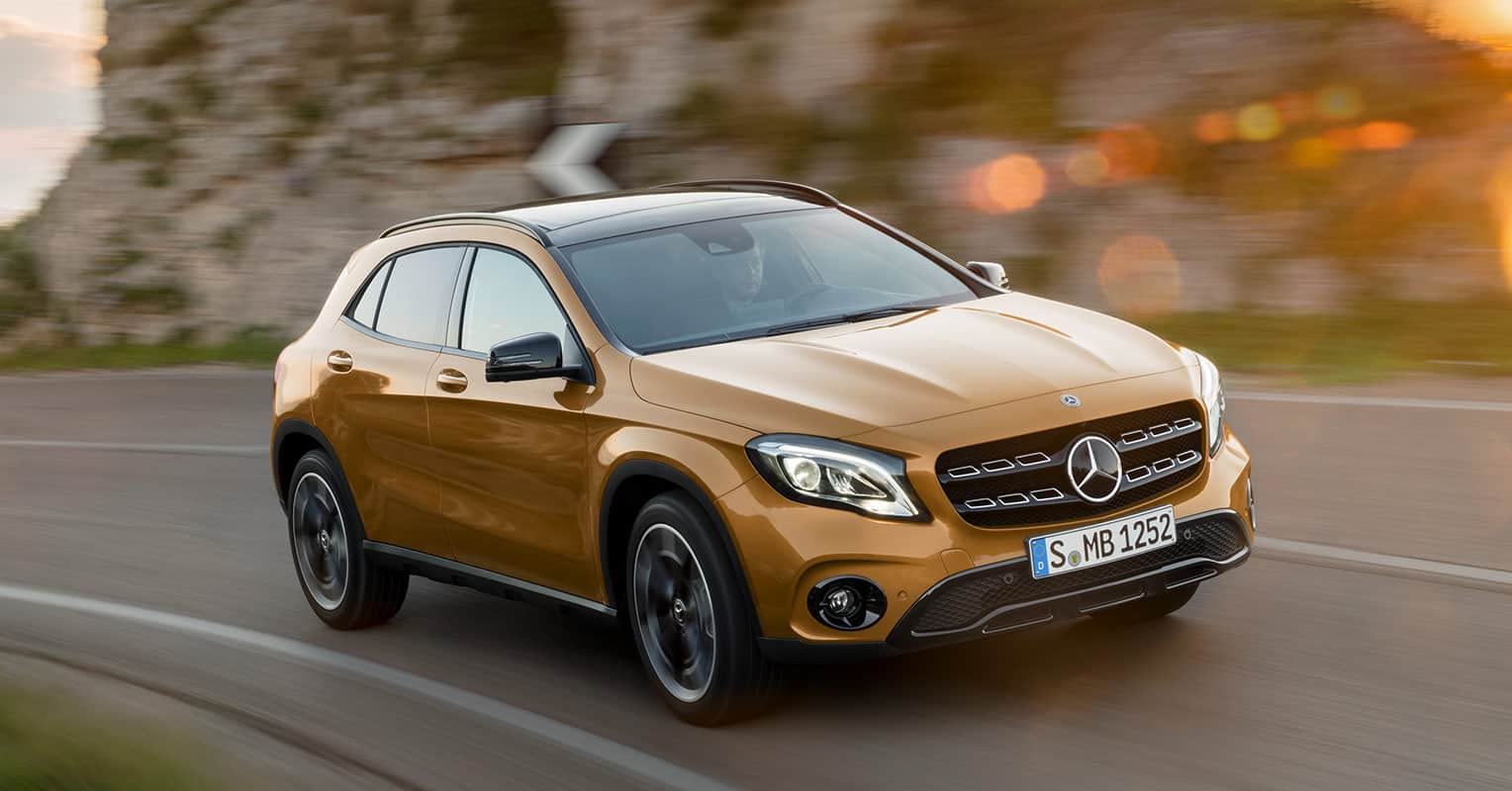 Mercedes-Benz Clase GLA frontal