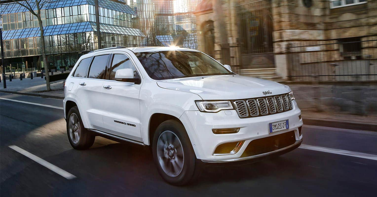 Jeep Grand Cherokee frontal