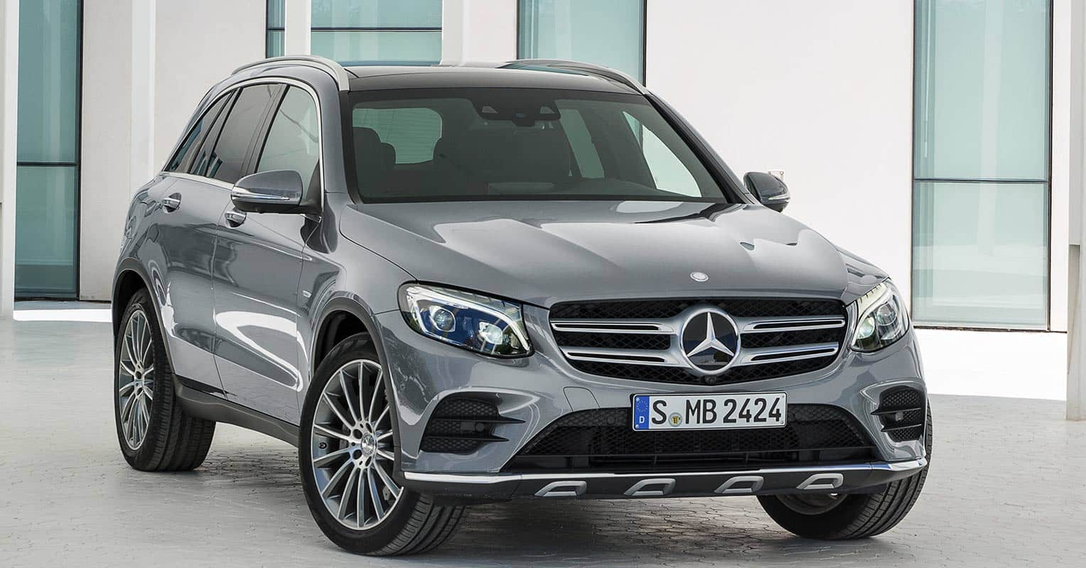 Mercedes-Benz Clase GLC frontal