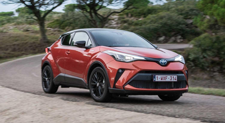 Toyota CHR 2020 zaga