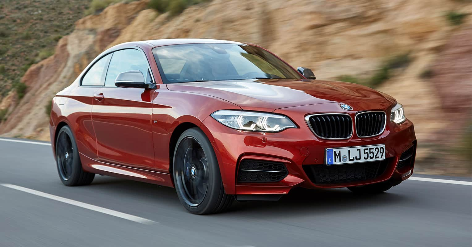 Frontal del BMW Serie 2
