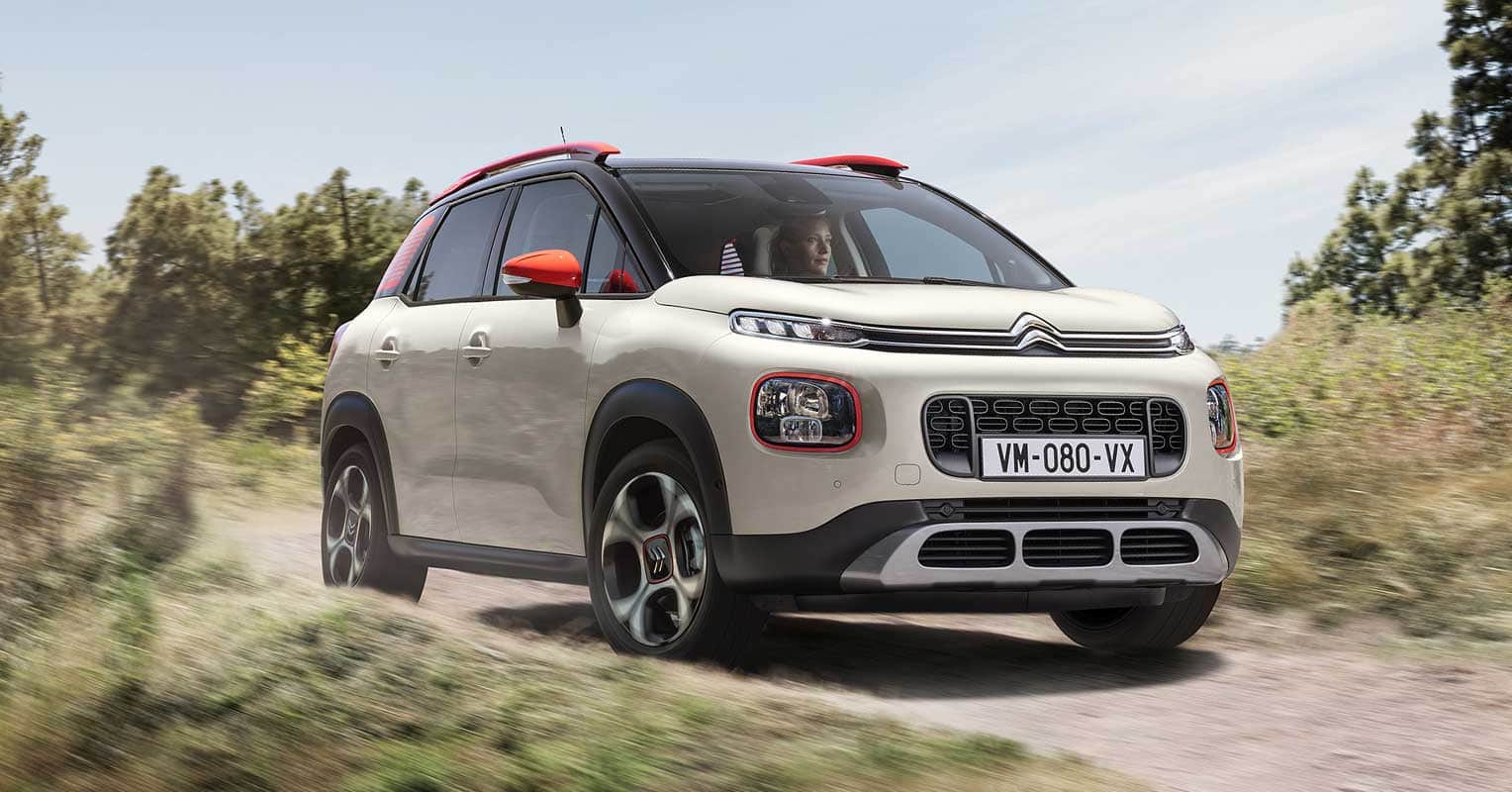 Frontal del Citroen C3 Aircross